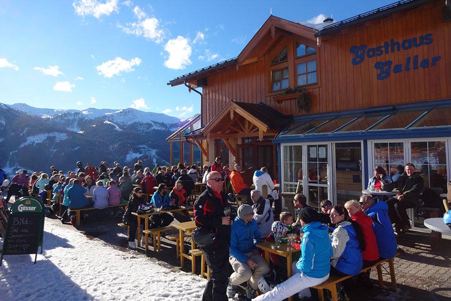 Ihre Erholung nach dem Skifahren