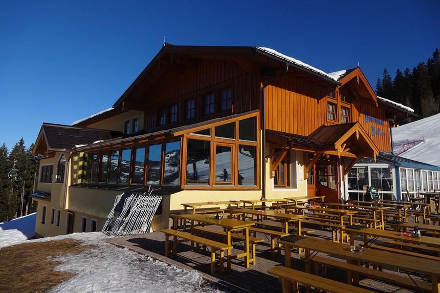 Das Gasthaus Galler im Winter