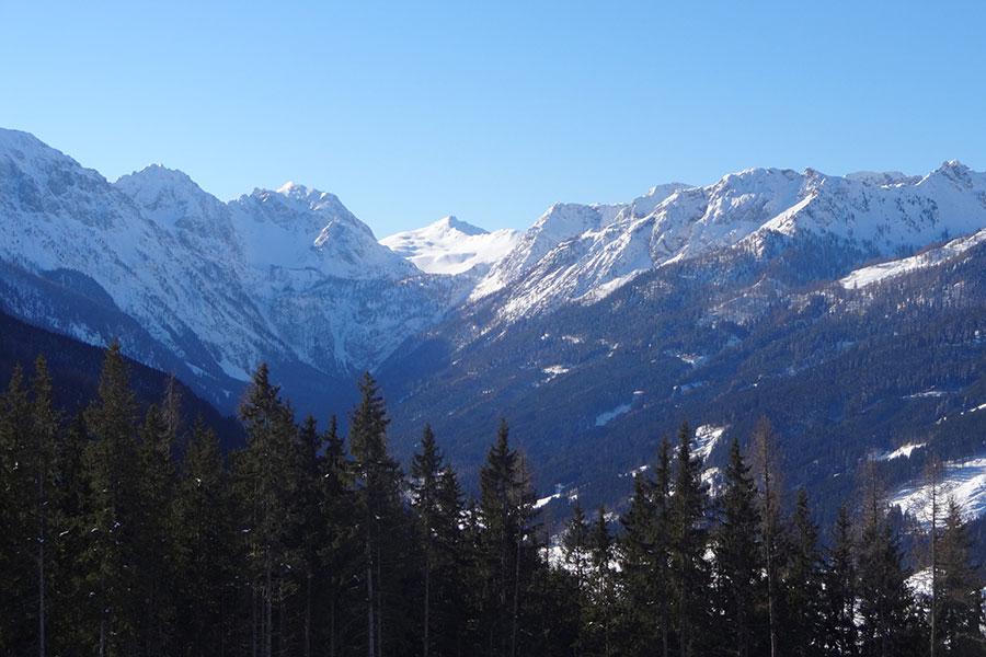 Wunderbares Winterpanorama